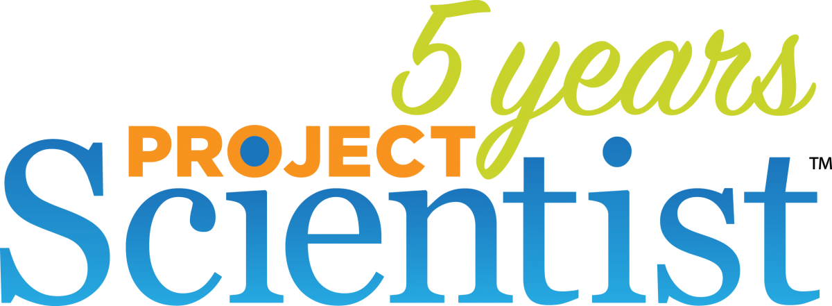 Project Scientist 5 Year Anniversary Logo